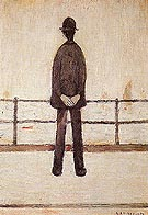 An Old Man and the Sea By L-S-Lowry