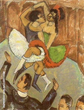 Negro Dance c1911 By Ernst Kirchner