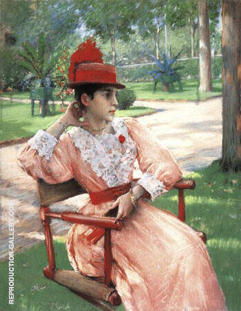 Afternoon in the Park 1890 Painting By William Merritt Chase