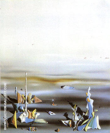 The Five Strangers 1941 By Yves Tanguy