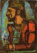 The Old King 1937 By George Rouault