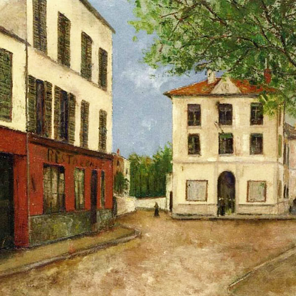 Oil Painting Reproductions of Maurice Utrillo