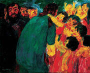 Christ Among the Children 1910 By Emil Nolde