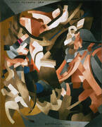 Catch as Catch Can 1915 By Francis Picabia