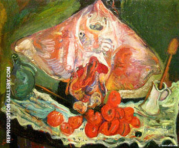 The Ray c1924 By Chaim Soutine - Oil Paintings & Art Reproductions - Reproduction Gallery