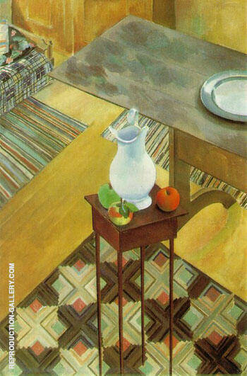 Interior 1926 By Charles Sheeler - Oil Paintings & Art Reproductions - Reproduction Gallery