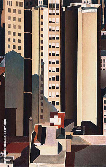 Skyscrapers 1922 By Charles Sheeler