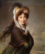 Portrait of a Young Woman 1797 By Elisabeth Vigee Le Brun