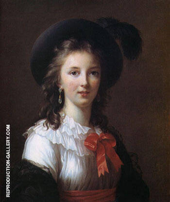 Self Portrait Aged 26 1781 By Elisabeth Vigee Le Brun