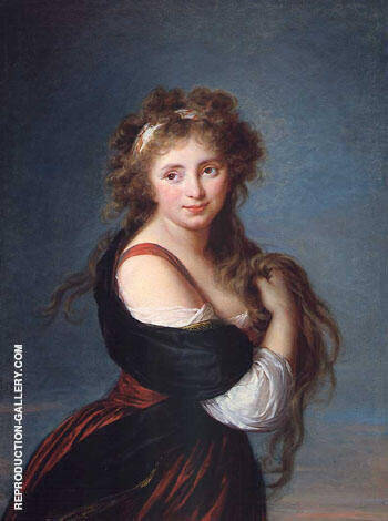 Hyacinthe Gabrielle Roland Countess of Mornington 1791 By Elisabeth Vigee Le Brun