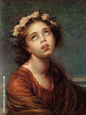 The Daughter's Portrait By Elisabeth Vigee Le Brun