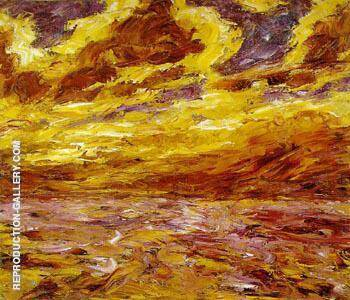Autumn Sea VII Painting By Emil Nolde - Reproduction Gallery