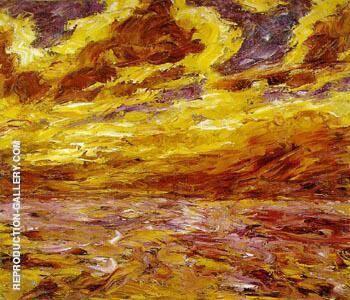 Autumn Sea VII By Emil Nolde
