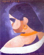 Young Girl By Francis Picabia