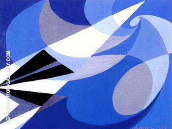 Futur 1923 By Giacomo Balla - Oil Paintings & Art Reproductions - Reproduction Gallery