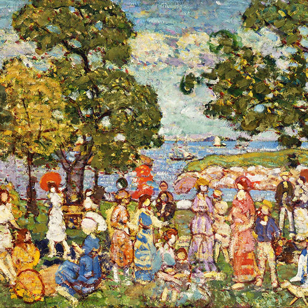 Oil Painting Reproductions of Maurice Prendergast