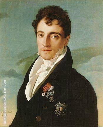 Joseph Vialetes de Mortarieu 1805 By Jean-Auguste-Dominique-Ingres Replica Paintings on Canvas - Reproduction Gallery