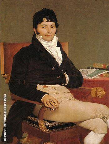 Philibert Riviere By Jean-Auguste-Dominique-Ingres - Oil Paintings & Art Reproductions - Reproduction Gallery