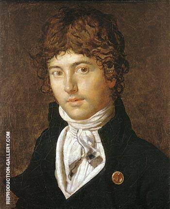 Pierre Francois Bernier 1800 By Jean-Auguste-Dominique-Ingres - Oil Paintings & Art Reproductions - Reproduction Gallery