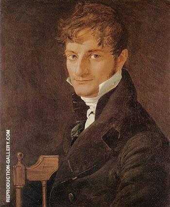 Monsieur Belveze Foulon 1805 By Jean-Auguste-Dominique-Ingres