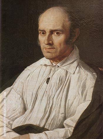 Pere Desmarets 1805 By Jean-Auguste-Dominique-Ingres
