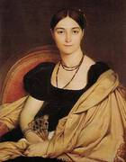 Madame Duvaucey 1807 By Jean-Auguste-Dominique-Ingres
