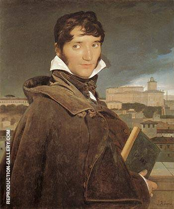 Francois Marius Granet 1809 By Jean-Auguste-Dominique-Ingres - Oil Paintings & Art Reproductions - Reproduction Gallery