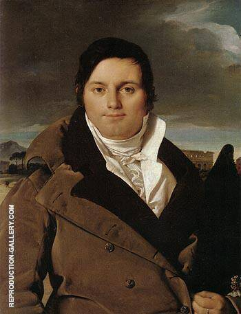 Joseph Antoine Moltedo 1810 By Jean-Auguste-Dominique-Ingres Replica Paintings on Canvas - Reproduction Gallery