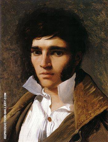 Paul Lemoyne 1810 By Jean-Auguste-Dominique-Ingres - Oil Paintings & Art Reproductions - Reproduction Gallery