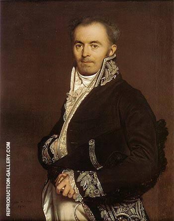 Hippolyte Francois Devillers 1811 By Jean-Auguste-Dominique-Ingres