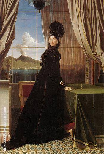 Queen Caroline Murat 1814 By Jean-Auguste-Dominique-Ingres