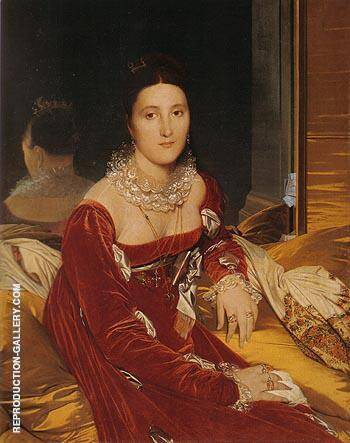 Madame de Senonnes 1814 By Jean-Auguste-Dominique-Ingres