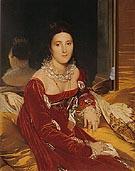 Madame de Senonnes 1814 By Jean-Auguste-Dominique-Ingres