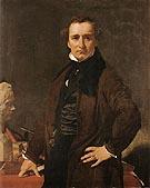 Lorenzo Bartolini 1820 By Jean-Auguste-Dominique-Ingres