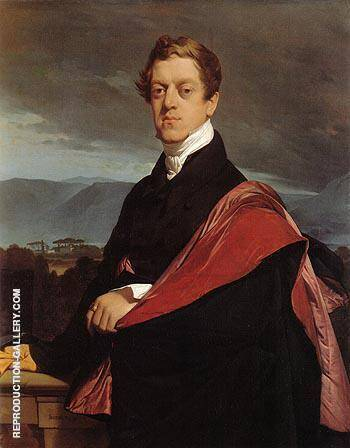 Count Nikolai Dmitrievich Gouriev By Jean-Auguste-Dominique-Ingres