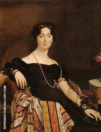 Madame Jacques Louis Leblanc 1823 By Jean-Auguste-Dominique-Ingres