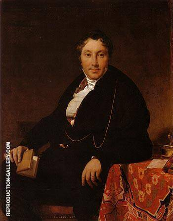 Jacques Louis Leblanc 1823 By Jean-Auguste-Dominique-Ingres