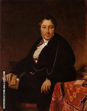Jacques Louis Leblanc 1823 By Jean-Auguste-Dominique-Ingres