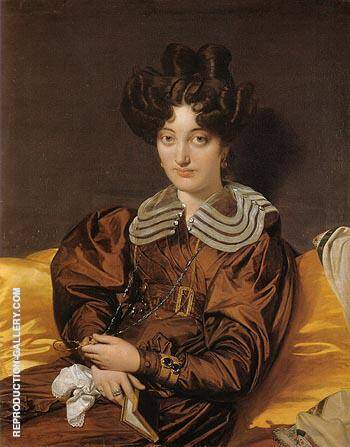Madame Marie Marcotte 1826 By Jean-Auguste-Dominique-Ingres