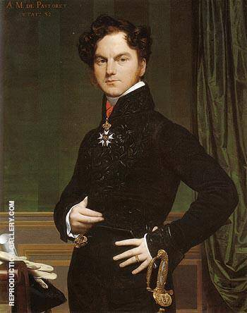 Amedee David Comte de Pastoret 1826 By Jean-Auguste-Dominique-Ingres