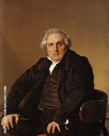 Louis Francois Bertin 1832 By Jean-Auguste-Dominique-Ingres