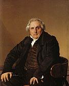 Louis Francois Bertin 1832 By Jean-Auguste-Dominique-Ingres