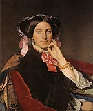 Madame Henri Gonse c1845 By Jean-Auguste-Dominique-Ingres