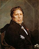 Self Portrait at the Age of Seventy nine 1859 By Jean-Auguste-Dominique-Ingres