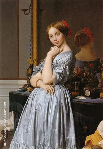 Vicomtesse Othnin d Haussonville 1845 By Jean-Auguste-Dominique-Ingres