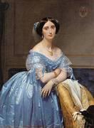 Portrait Of The Princesse De Broglie By Jean-Auguste-Dominique-Ingres