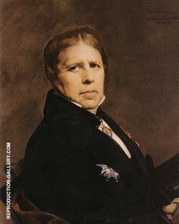 Self Portrait By Jean-Auguste-Dominique-Ingres