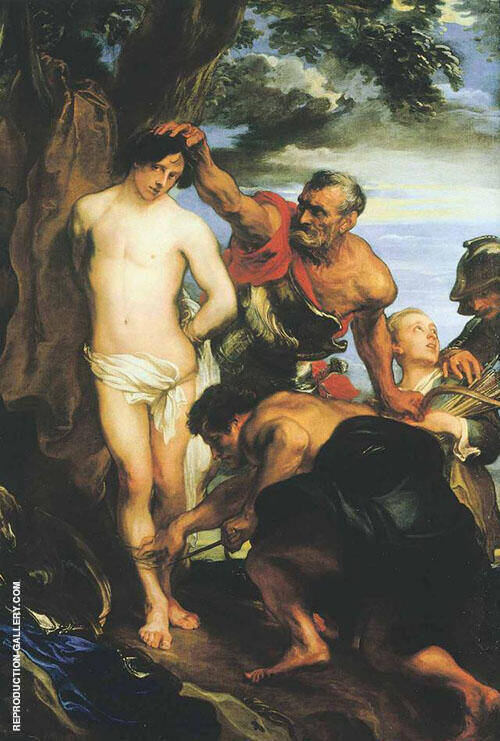 Reproduction of The Martyrdom of St Sebastian by Van Dyck | Oil Painting Replica On CanvasReproduction Gallery