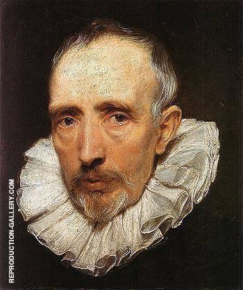 Cornelis van der Geest 1619 Painting By Van Dyck - Reproduction Gallery
