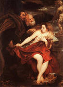 Susanna and The Elders By Van Dyck